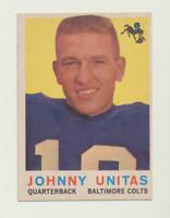 1959 Topps #1 Johnny Unitas - ExMt+
