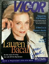 Lauren Bacall Signed Autographed Photo. Humphrey Bogart. Key Largo. Big Sleep.