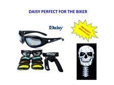 Daisy Motorcycle Harley Googles Glasses - DAISY with Free Mask Skull (F)  CM26