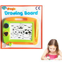 2x EASEL Kids Drawing Board Magnetic Writing Magic Pen Pad Doodle Sketch Eraser