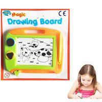 2 x EASEL Kids Drawing Board Magnetic Writing Magic Pen Pad Doodle Sketch Eraser