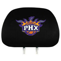 NBA: Phoenix Suns [2] Headrest Covers with Litter Pocket