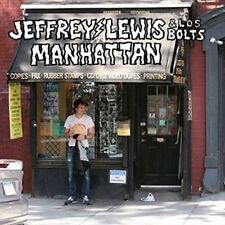 Jeffrey Lewis & Los Bolts Manhattan 2015 UK 11-track Vinyl LP Mp3 New/