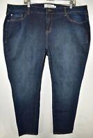 Torrid Slim Skinny Stretch Jeans Womens Size 22S Blue Meas. 43x29.5