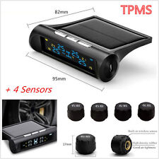 TPMS Tyre Pressure Monitoring System External Tire Sensors LCD Auto Car Wireless