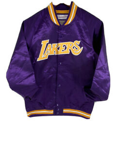 Mitchell & Ness NBA Los Angeles Lakers Lightweight Satin Jacket Youth Kid 14/16
