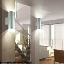 LED Wand Spot Leuchte Glas Kugel rauch Design Strahler Flur Treppenhaus Lampe