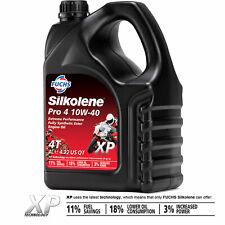 Silkolene PRO 4 10w-40 XP Synthetic Ester 4T Bike Engine Oil 10w40 4 LITRES 4L