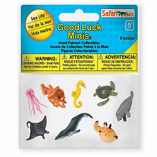 Sea Life Fun Pack Mini Good Luck Figures Safari Ltd NEW Toys Educational