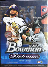 2020 Topps Bowman Platinum Baseball Hanger Box chrome