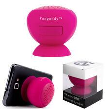Waterproof Wireless Suction Speaker Handsfree Mic Car Shower Phone Stand Holder
