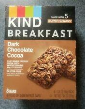 Kind Breakfast Bars Dark Chocolate Cocoa 8 Bars / 4 Pack