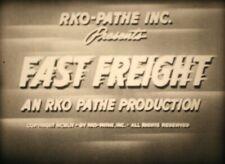 RKO - Fast Freight (Big George) 1 x 400ft Super 8 B&W Sound - Boxed Archive Film