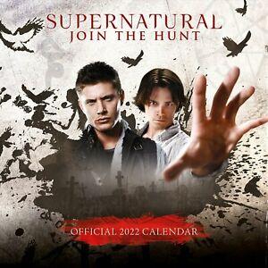 Supernatural 2022 Square Wall Calendar