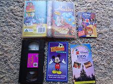 Walt disney Classics Snow white and the seven dwarfs - Rare - U Vhs video tape
