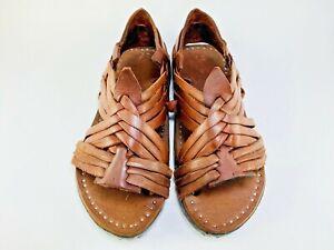 HUARACHE CRUZADO RUSTICO OILED VINTAGE ''Acme'' Sandals Mexican Huaraches
