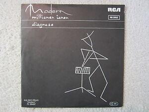 Single / MODERN / MIT PROMO INFO  / NEW WAVE ROCK / DE  / RARITÄT /  1982 /
