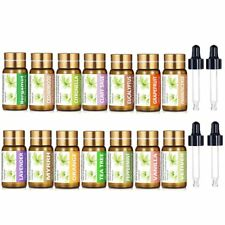 14 in 1 Set 100% Pure Organic Essential Oils 5ml Therapeutic Grade Aromatherapy