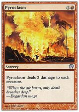 Pyroclasm X1 FINE PLAYED 9th Edition MTG Magic Cards Red Uncommon
