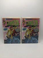 Impact! comics- The Web #1 1991 c8 (2 copies)