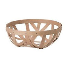 Longaberger Woven Small Free Form bowl basket in Washed Maple  - NIH