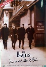 THE BEATLES  LIVE AT THE BBC 1994 VINTAGE ORIG MUSIC RECORD STORE PROMO POSTER