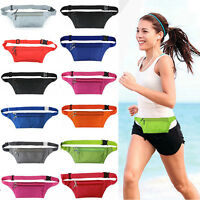 Waist Travel Sport Belt Money Passport Wallet Pouch Bum Hip Bag Fanny Pack