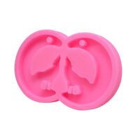 Resin Mold Moon Wolf/Cat Ear Epoxy Craft Silicone Molds Polymer Clay Mould DJ9C1