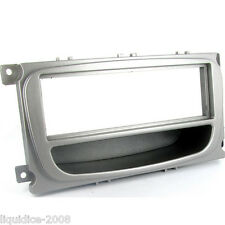 CT24FD26 FORD MONDEO 2007 ONWARDS ALL MODELS SILVER SINGLE DIN FASCIA ADAPTER