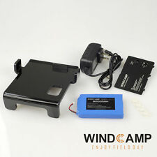 NEW 3000mAh Polymer Lithium Battery + Charger + battery cover +Stand for FT-817