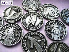 U PICK SAINT POCKET TOKEN Saints Religious Patron Protect Inspiration Coin AGTU
