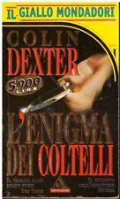 (Colin Dexter) L'enigma dei coltelli 1996 Mondadori GM 2496