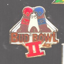 Bud Bowl 2 Vintage Super Bowl Collectible Pin