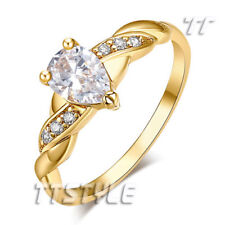 Gold Plated Stone Fashion Rings