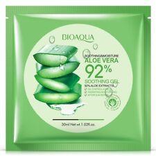 Natural Aloe Vera Gel Face Mask Skin Care Moisturizing Oil Control Wrapped Mask