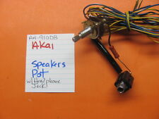 AKAI SPEAKER SELECTOR POT WITH HEADPHONE JACK AA-910DB STEREO RECEIVER