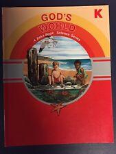 ABeka Grade K: God's World (2nd Edition) - Student Text