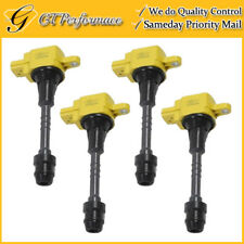 OEM Quality Ignition Coil 4PCS for 2002-2006 Nissan Sentra 1.8L L4, 22448-6N011