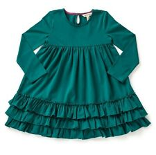 ~ MATILDA JANE ~ sz 6 Moments with You Teal Green Ruffles Veggie Stand Dress