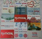 15 TJ Maxx Store Vintage Empty Gift Card No Value Lot For Sale