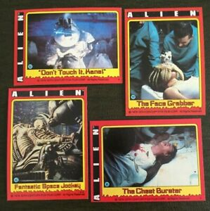 (VA) 1979 Topps Alien Singles, Stickers & wrappers**Select from Menu List