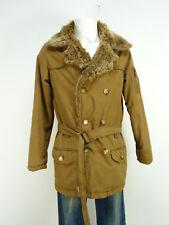 Scotch & soda invierno chaqueta talla S/marrón & invierno cálido con pelaje (n 7997)