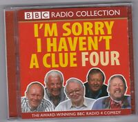 I'M SORRY I HAVEN'T A CLUE  FOUR BBC RADIO COLLECTION AWARD WINNING COMEDY 2 CDS