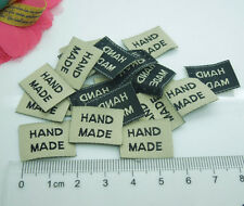 300pcs HANDMADE Deco Ribbon Tag Label Sewing Scrapbooking Crafts 20*15mm