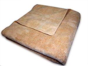 "40 Case of Microfiber 380GSM Professional 19""x35"" Salon Towels (Beige)"