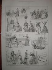 Valentine's Day cartoon 1886 S T Dadd print