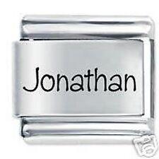 JONATHAN Name - Daisy Charm by JSC Fits Classic Size Italian Charms Bracelet