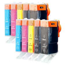 10x Tinte Patronen für Canon Pixma IP5200 IP5200R IP5300 MP500 MP520 MP530 MP800