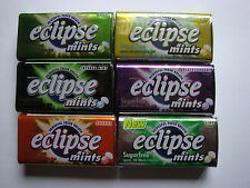 eclipse Mints Sugarfree Powerful Fresh Breath - 6 different taste