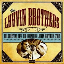 Louvin Brothers CHRISTIAN LIFE Best Definitive REMASTERED Box Set NEW 4 CD